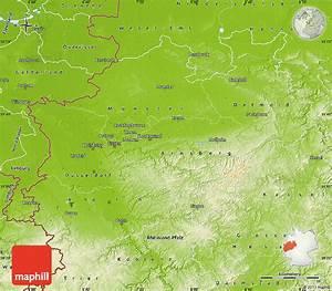 Nord Rhein Westfalen : physical map of nordrhein westfalen ~ Buech-reservation.com Haus und Dekorationen