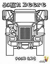 Truck Coloring Pages Deere John Dump Construction Dirty Adt 400d Trucks Articulated Yescoloring sketch template