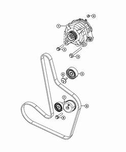 Chrysler Sebring Generator  Engine   140 Amp Alternator