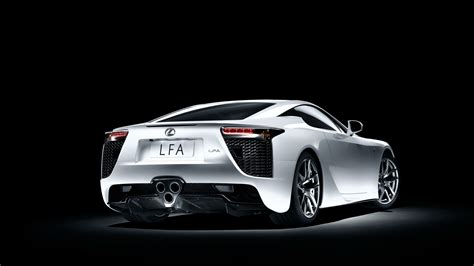 lexus coupe white download 1920x1080 hd wallpaper lexus lfa roadster coupe