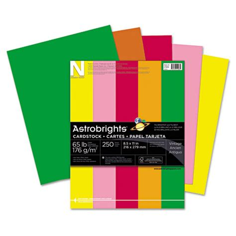 colored card stock paper bettymills wausau paper 174 astrobrights 174 colored card stock