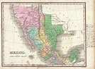 File:1827 Finley Map of Mexico, Upper California and Texas ...