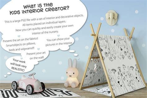 kids scene interior creator interiorscenekidsmockups
