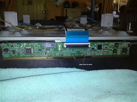 mi tv led samsung un32eh4000fxzp tiene colores raros yoreparo