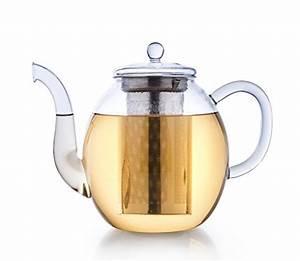 Teekanne 1 5l : creano glas teekanne 1 5l 3 teiliger teebereiter mit integriertem edelstahl sieb und glas ~ Watch28wear.com Haus und Dekorationen