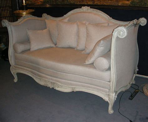 end of bed sofa large end of 18th early 19th century alcove sofa bed at