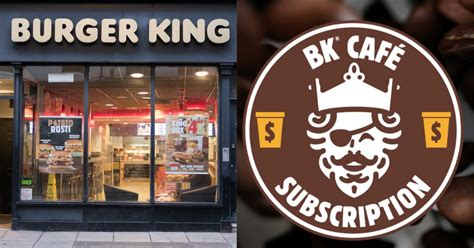Get access to exclusive coupons. Burger King Launched A Coffee Subscription That Will Only ...