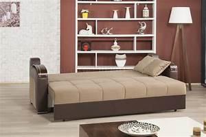 divan deluxe signature sofa bed in dark beige fabric by With divan sofa bed