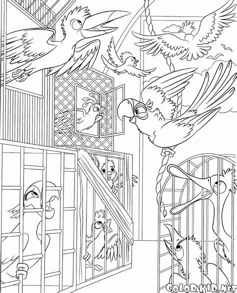 coloring page rio