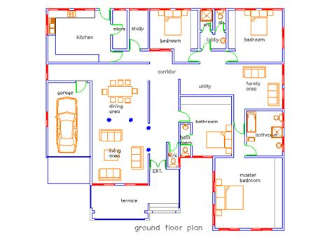 Jonat 4 Bedroom House Plan In Ghana