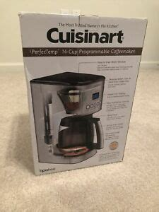 Dropped or damaged in any manner. Cuisinart Coffee Maker - Model DCC-3200 | eBay