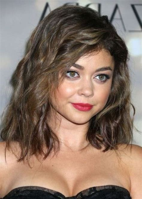 medium length hairstyles    face hairstyle