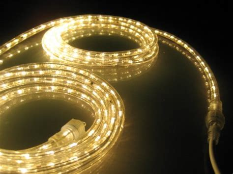 10ft rope lights soft white led rope light kit
