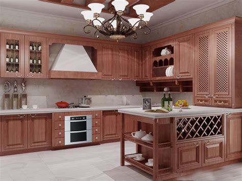 buy kitchen furniture aliexpress buy 2017 customized solid wood kitchen