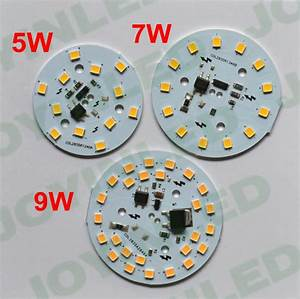 Dimmable Integrated Driver Smd2835 Led Pcb 3w 5w 7w 9w Pcb
