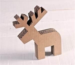 Renne En Carton : renne en carton d coratif pour no l ~ Melissatoandfro.com Idées de Décoration