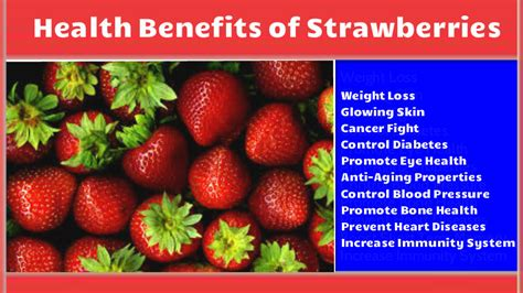 Health Benefits Of Daily Strawberry Consumption