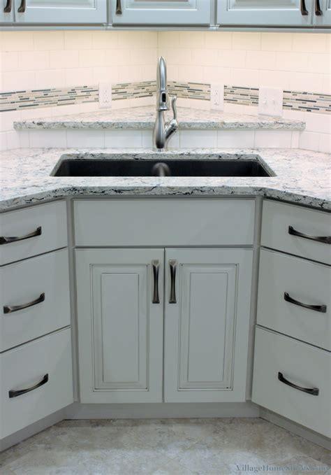 Corner Kitchen Sink Pictures  Corner Sink Kitchen With