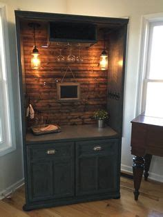 not shabby by colleen upcycled repurposed armoire converted into a dry bar liquor cabinet not too shabby by