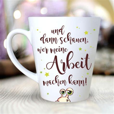 keramiktasse konisch schnecke quot kaffee trinken
