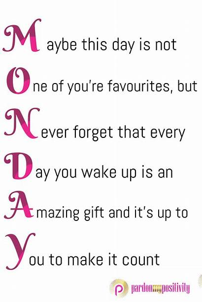 Monday Quotes Inspirational Morning Positive Daily Motivational