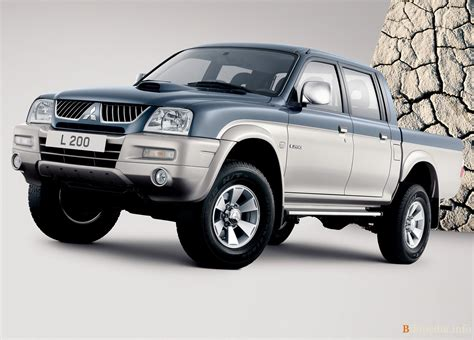 Mitsubishi Xd490u L by 2005 Mitsubishi L200 Pictures Information And Specs