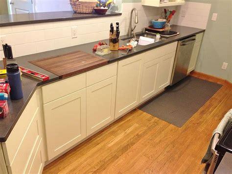 cutting board countertop gallery of countertop cutting board kitchen ideas
