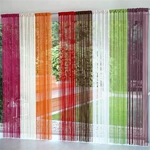 Fil Tringle Rideau : rideau de fils blancheporte ~ Premium-room.com Idées de Décoration