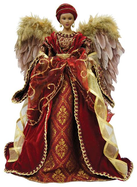 16 quot diva angel tree topper traditional christmas