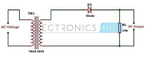 wave rectifier circuit characteristics  working