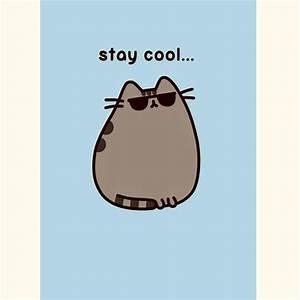 Hype Pusheen 'Stay Cool' Greeting Card - Catfish Kids