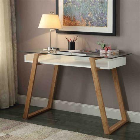 bureau verre et bois bureaux design pour l 39 intérieur en 75 idées inspirantes