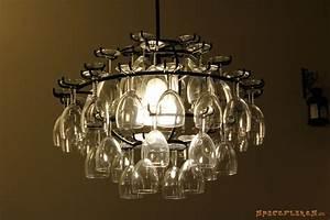 Lampen Selber Herstellen : lampe mit weingl sern selbstgebaut ~ Michelbontemps.com Haus und Dekorationen