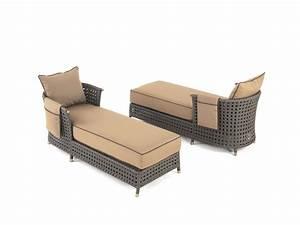 Fauteuil Relax De Jardin : chaise longue de transat relax jardin fauteuil piscine en resine tressee maroc ~ Teatrodelosmanantiales.com Idées de Décoration