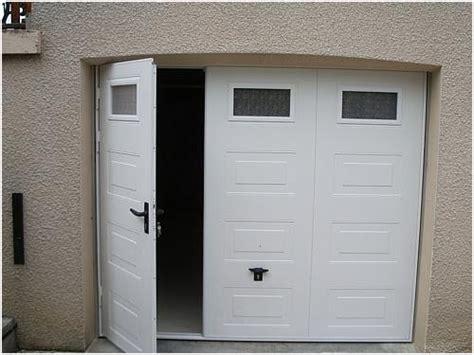 Porte De Garage Sectionnelle Sur Mesure Leroy Merlin