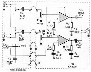 Amplificador Est U00e9reo 2x1 W