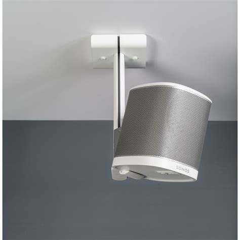 Sonos Ceiling Speakers by Flexson Ceiling Mount For Sonos Play1 White Single