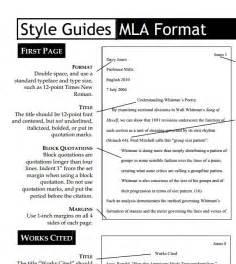 MLA Format Citation Cheat Sheet