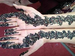 Front Hand Arabic Mehndi Designs for Stylish Girls Women ...