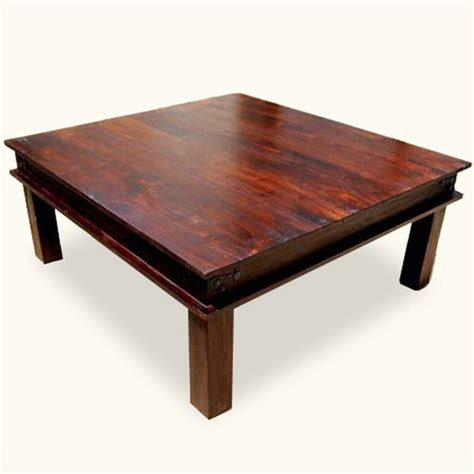 48 X 48 Coffee Table Ideas