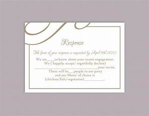 diy wedding rsvp template editable text word file download With rsvp cards for weddings templates