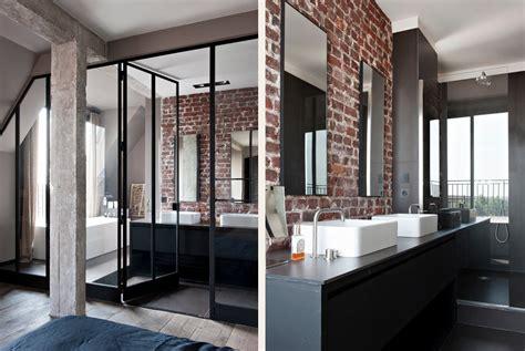 chambre style industrielle appartement style loft industriel