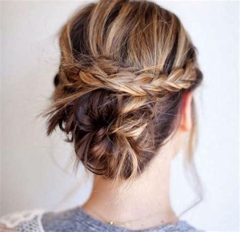 coiffure pour  mariage cheveux mi long
