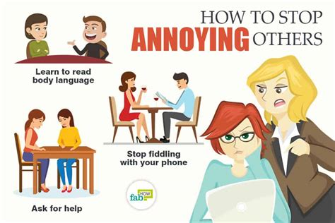 How To Stop Annoying Others 30+ Useful Tips  Fab How
