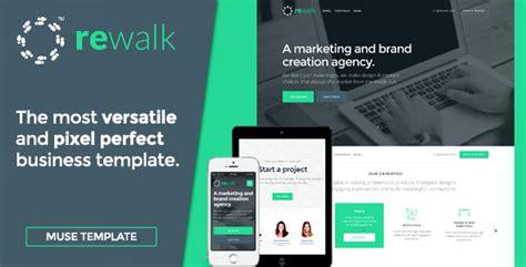 Rewalk Business Adobe Muse Template Muse Templates Adobe Muse Business Templates 25 Best Creative Business