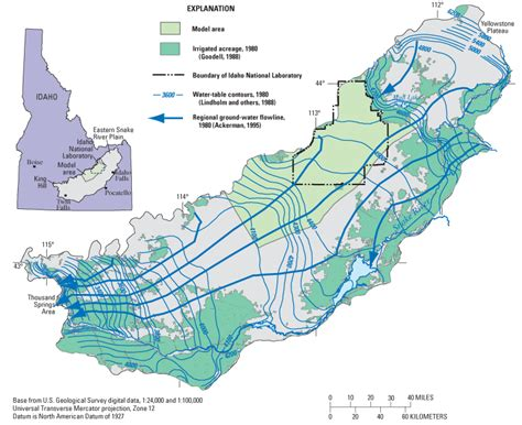 A Conceptual Model of Ground-Water Flow in the Eastern ...