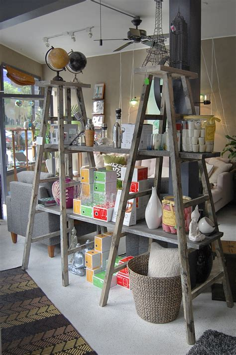 ladder display shelf how to decorate with vintage ladders 20 ways to inspire