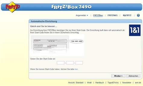 fritzbox im browser 1 1 homeserver installation einrichtung im handumdrehen