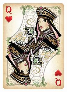The Queen of Hearts Playing Card by Sketch2Draw on DeviantArt