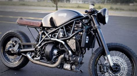 This Cafe Racer Is Powered By A Turbo Diesel Engine And